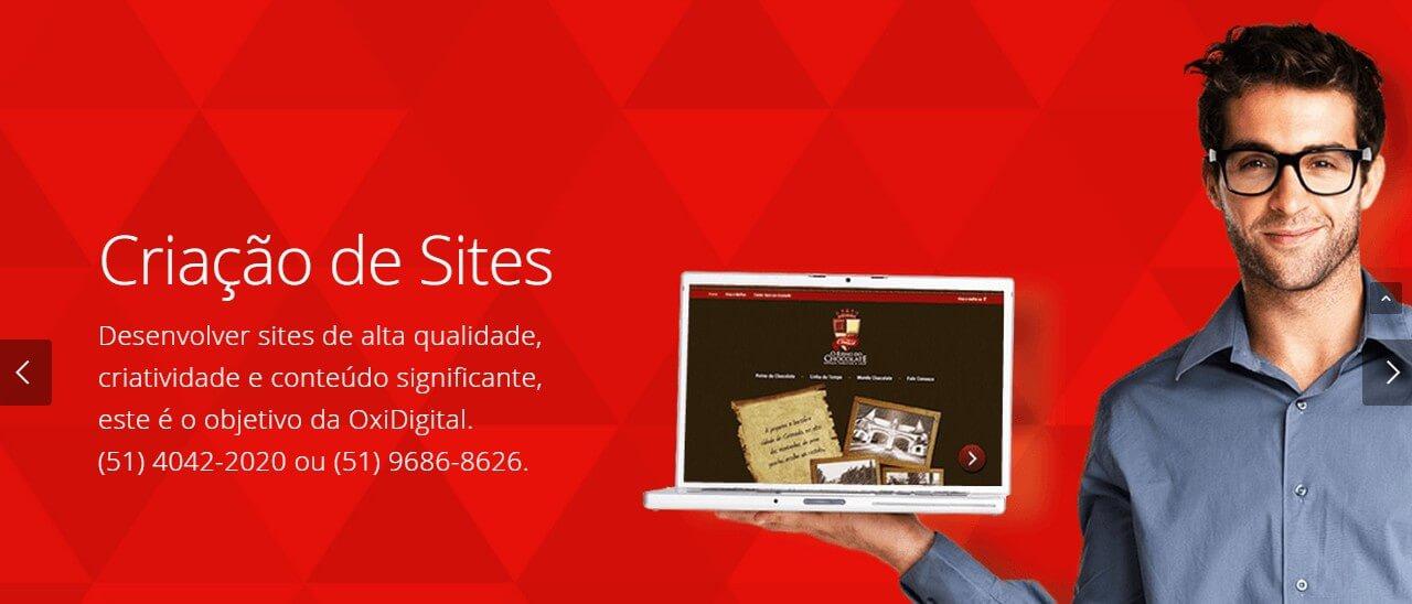 OxiDigital - Criação de Sites em Porto Alegre