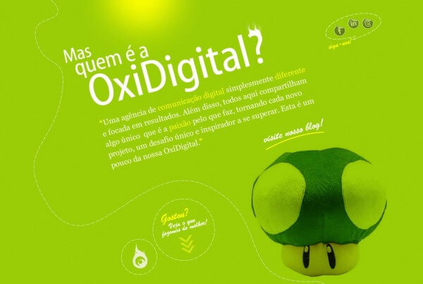 OxiDigital – Site 2011