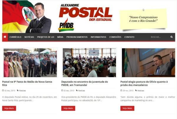 Deputado Estadual Alexandre Postal