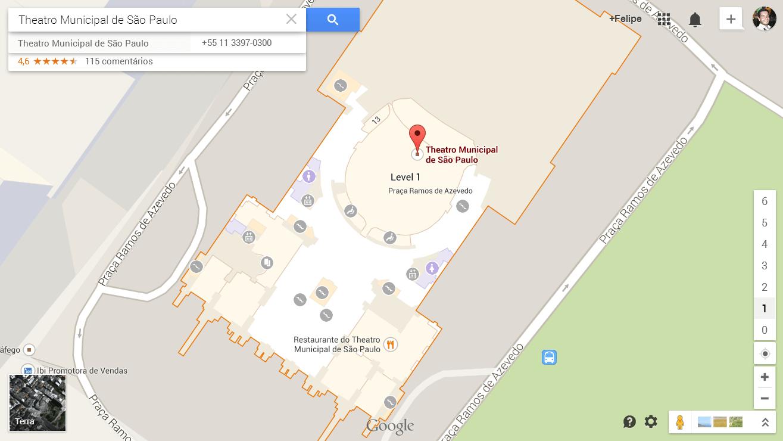 Mapas do Google para lugares fechados, como shoppings e aeroportos, chegam ao Brasil